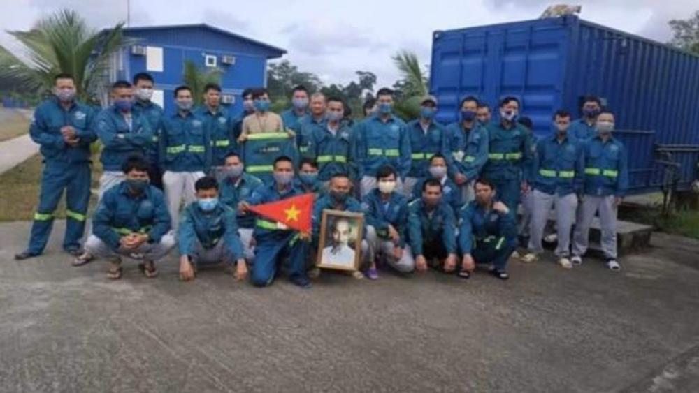 4 lao động Bắc Giang ở Ghi-nê đã liên lạc được với gia đình